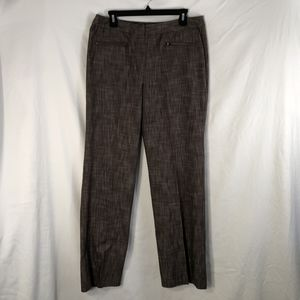 New Directions 12 Pants Brown Stretch Career 670